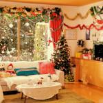 季節感を出したAirbnb部屋作り!クリスマスver♪