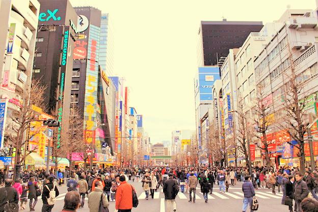 akihabara.pedestrian-precinct