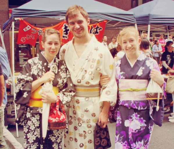 yukata-style